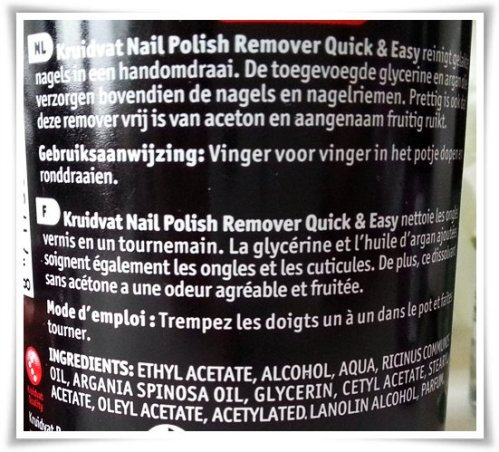 Kruidvat Nailcare Quick&Easy Remover-2